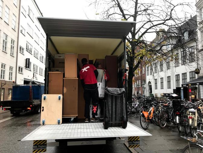 Flytning i København med DKFT