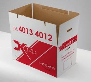 Papkasser er også gode til opbevaring